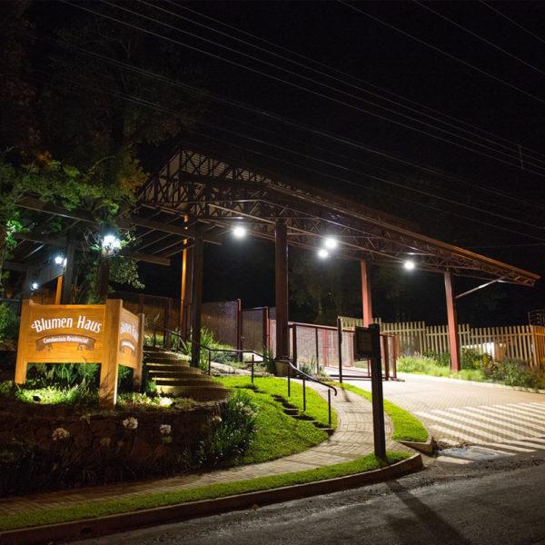 Área Urbana dos Lotes e Terrenos do Condomínio Blumen Haus em Nova Petrópolis na Serra Gaúcha
