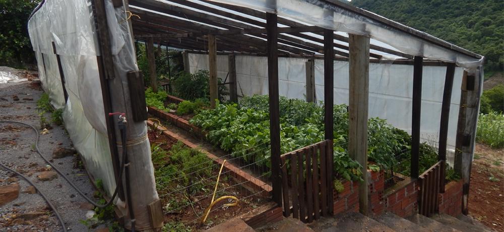 Estufas do Condomínio Blumen Haus em Nova Petrópolis / Serra Gaúcha