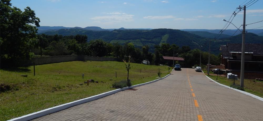 Pavimento do Condomínio Blumen Haus em Nova Petrópolis / Serra Gaúcha