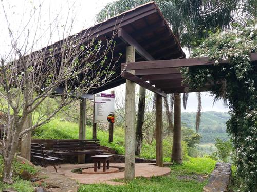 Estar do Pomar do Condomínio Blumen Haus em Nova Petrópolis / Serra Gaúcha