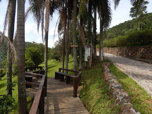 Estar dos Jerivás do Condomínio Blumen Haus em Nova Petrópolis / Serra Gaúcha